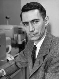 Mathematician and Computer Scientist Claude Shannon Photographic Print by Alfred Eisenstaedt