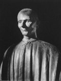 Bust of Machiavelli, by an Unknown 16th Century Florentine Master Premium Photographic Print