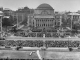 Dwight D. Eisenhower's Inauguration as President of Columbia University Premium Photographic Print by Ralph Morse