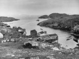 Fishing Village in Labrador Premium Photographic Print