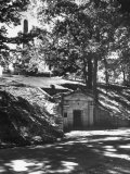 The Original Vault Behind Abraham Lincoln's Tomb Premium Photographic Print by Ralph Crane
