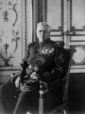 Prince Louis Ii Sitting in Portrait Wearing French Army Uniform Premium Photographic Print