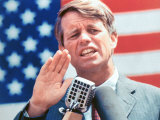 Robert F. Kennedy During the Primary Campaign Photographic Print