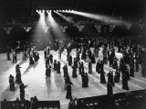 Large Number of Guests Dancing on the Ballroom Floor During Harry S. Truman's Inaugural Ball Premium Photographic Print by Ralph Morse