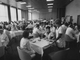 An Inexspensive Lunch, for Workers in a Transistor Factory Premium Photographic Print by Ralph Crane