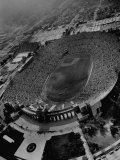 An Aerial View of the Los Angeles Coliseum Premium Photographic Print by J. R. Eyerman
