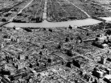 Ruins of Hiroshima after the Atomic Bomb Blast Premium Photographic Print