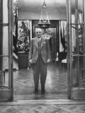 The Richest Man in Spain Juan March, Standing in the Doorway Premium Photographic Print by Dmitri Kessel