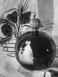 Close-Up of Perfume in Bottle Premium Photographic Print