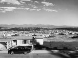 Residential Neighborhood on Remote, Guarded Mesa Where Atomic Bombs are Manufactured Premium Photographic Print by Alfred Eisenstaedt