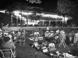 Outdoor Concert Photographic Print by Ralph Crane