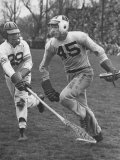 Lacrosse Game Between Johns Hopkins and Virginia Photographic Print