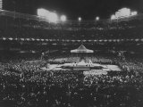 Appearance of Pope Paul VI for Roman Catholic Mass in New York Yankee Stadium Premium Photographic Print by Ralph Morse