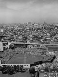 Ariels of Seals Stadium During Opeaning Day, Giants Vs. Dodgers Photographic Print by Nat Farbman