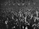Huge Numbers of People Dancing on the Ballroom Floor During Harry S. Truman's Inaugural Ball Premium Photographic Print by Ralph Morse