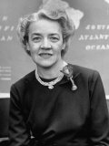 Senator Margaret Chase Smith, Representing the State of Maine, in Congress Photographic Print