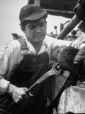 Apprentice Oscar Romero of El Salvador, Who Took His Job for Adventure Premium Photographic Print by Ralph Crane