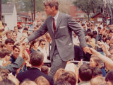 Senator Robert F. Kennedy Campaigning in Indiana Presidential Primary Photographic Print