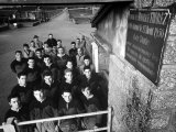 Town Rugby Team Gathering at the Stadium Reproduction photographique sur papier de qualité