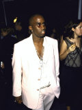 "Rap Artist Sean ""Puffy"" Combs at the Cfda Awards Premium Photographic Print by Marion Curtis"
