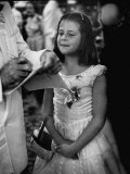 a Little Girl Attending the Governors Conference Premium Photographic Print by Lisa Larsen