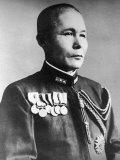 Imperial Japanese Navy Vice Admiral Jisaburo Ozawa During WWII Premium Photographic Print