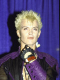 Musician Billy Idol Premium-Fotodruck von David Mcgough