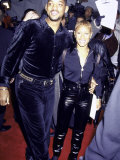 "Married Actors Will Smith and Jada Pinkett at Film Premiere of ""Metro"" Premium Photographic Print by Mirek Towski"