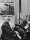 Former President Harry S. Truman Playing the Piano Premium Photographic Print