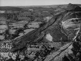 Aberfan after Coal Slag Avalance Swept Through Village Premium Photographic Print