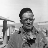 Grizzled Coal Miner Photographic Print by Alfred Eisenstaedt