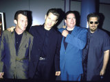 Musician Actor Chris Isaak with His Band Reproduction photographique sur papier de qualité par Dave Allocca
