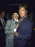 Costume Designer Kathy O'Rear and Boyfriend, Actor Robert Redford Premium Photographic Print