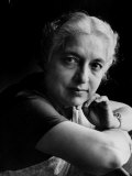 Portrait of Mme. Vijayalakshmi Pandit Premium Photographic Print by Lisa Larsen