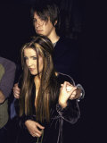 Lisa Marie Presley and Boyfriend, Musician John Oszajca Premium Photographic Print by Marion Curtis