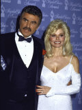 Married Actors Burt Reynolds and Loni Anderson at the People's Choice Awards Premium Photographic Print