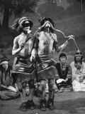 Hopi Indian Snake Dance Premium Photographic Print by Yale Joel