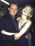 "Writer Andrew Upton and Wife, Actress Cate Blanchett, at Party for Her Film ""Elizabeth"" Premium Photographic Print by Dave Allocca"