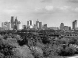 Skyline View of Houston Premium Photographic Print