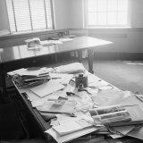 Albert Einstein's Office Photographic Print by Ralph Morse