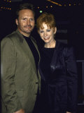 Singer Reba Mcentire and Husband, Narvel Blackstock Premium Photographic Print by Mirek Towski