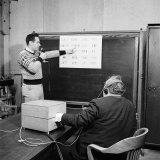 M.I.T Mathematics Prof. Norbert Wiener Photographic Print by Alfred Eisenstaedt
