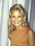 Actress Sarah Michelle Gellar Premium Photographic Print by Marion Curtis