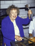 Television Cooking Expert Julia Child Premium Photographic Print by Dave Allocca
