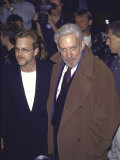 Actor Kiefer Sutherland and Father, Actor Donald Sutherland Premium Photographic Print by Milan Ryba