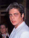 "Actor Benicio Del Toro at Film Premiere for ""Fear and Loathing in Las Vegas"" Premium Photographic Print"