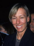Tennis Player Martina Navratilova Attending Glamour Women of the Year Awards Premium Photographic Print