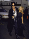Motley Crue Member Nikki Sixx and Wife, Actress Donna D'Errico Premium Photographic Print by Mirek Towski