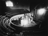 "Gutted Abbey Theatre, Where Sean O'Casey Play ""The Shadow of a Gunman,"" Was First Performed Premium Photographic Print by Gjon Mili"