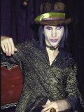 Singer Marilyn Manson Premium Photographic Print by Dave Allocca